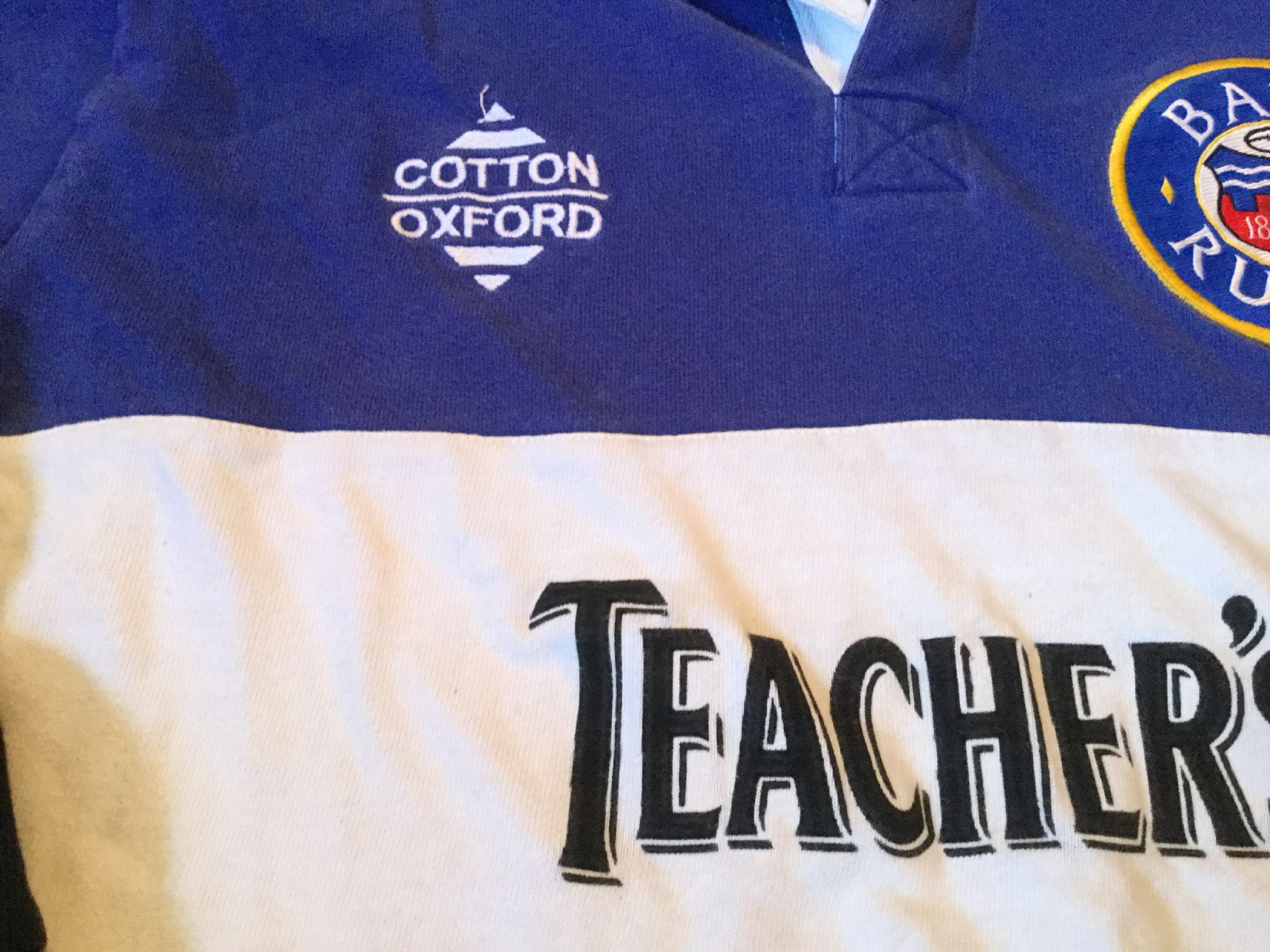 d7d35f168a6 Classic Rugby Shirts | Bath 1996 Old Vintage Jersey
